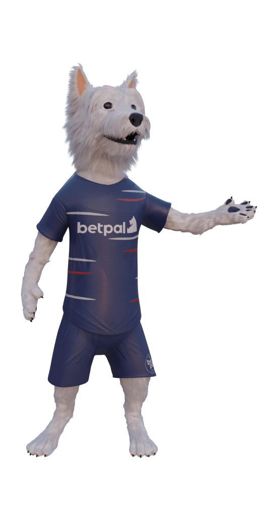 betpal dog mascot showing how to find the best sports betting site in NZ