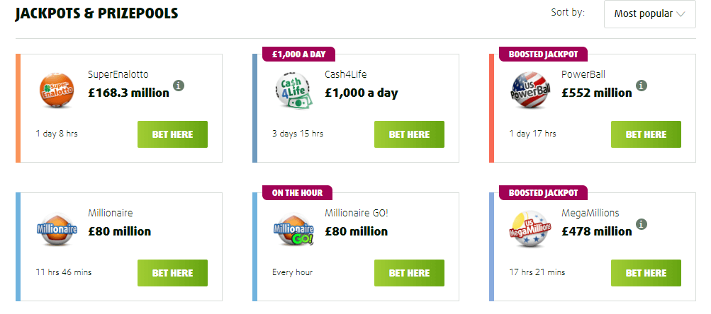 lottoland lotto offers