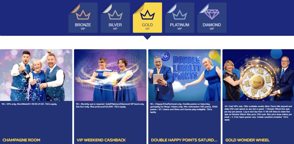 gala bingo vip offers