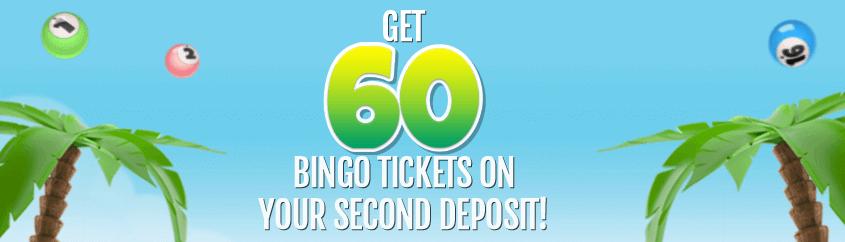 costa bingo get 60 tickets