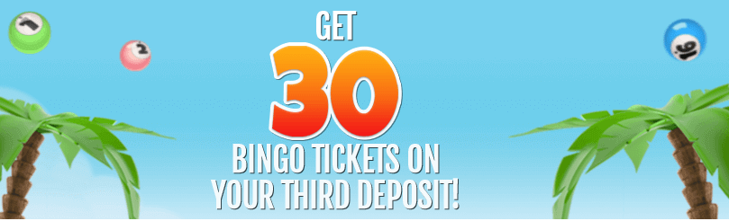 costa bingo get 30 tickets