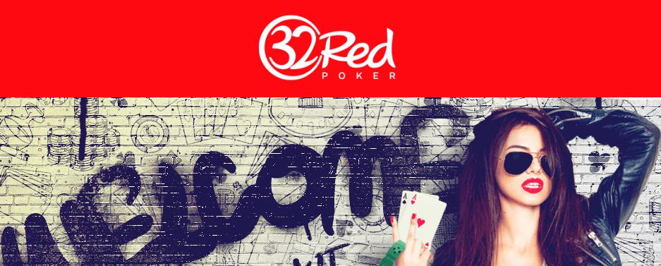 32 red poker
