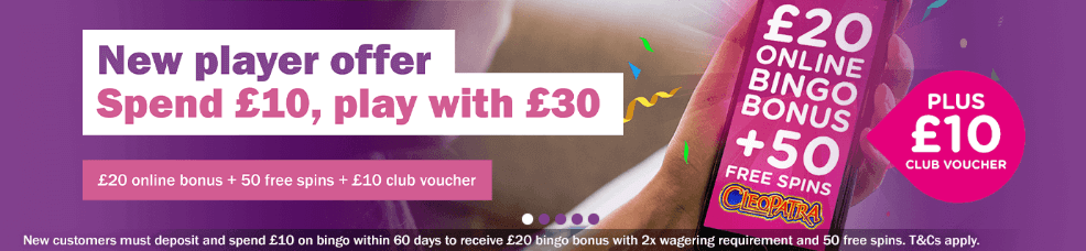 mecca bingo bonus