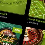 blackjack and roulette