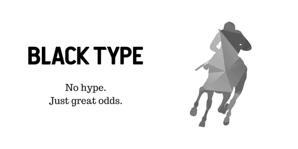 blacktype tagline