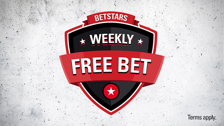 weekly free bet betstars