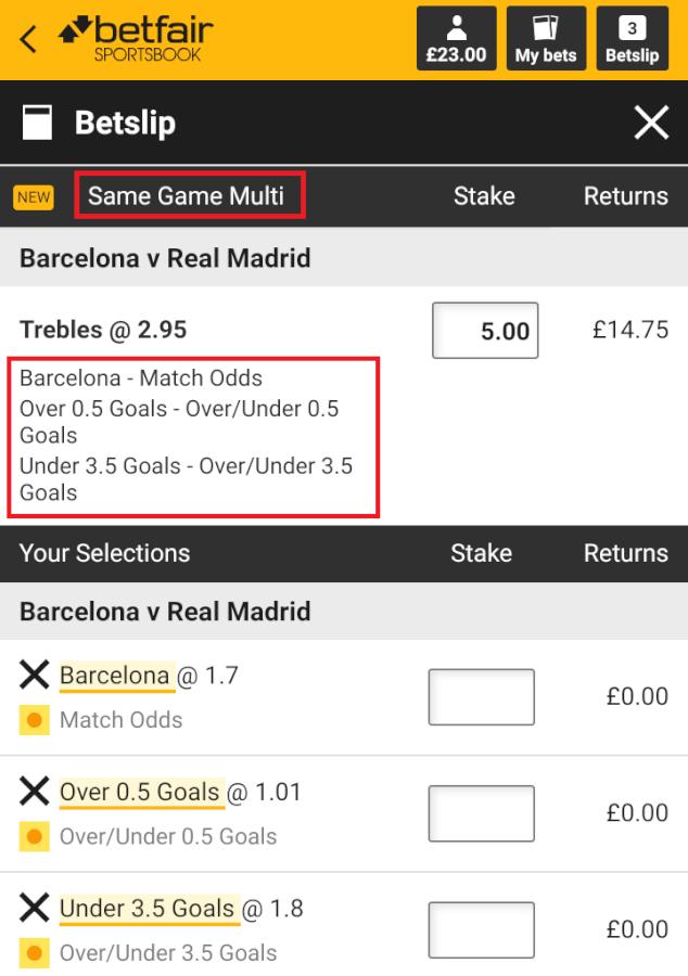 betfair betslip screenshot where to bet