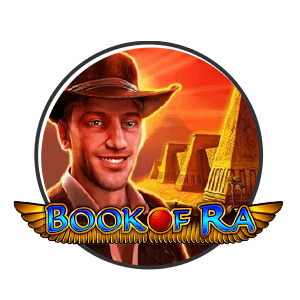 book of ra slot logo