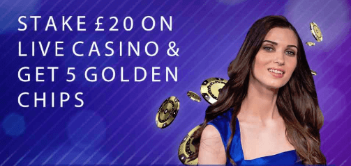 betfred live casino welcome offer