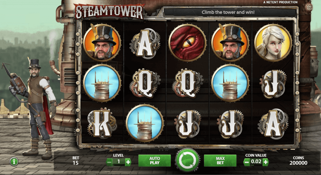 steam tower slot