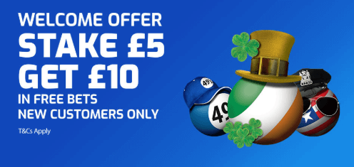 betfred lottery welcome offer