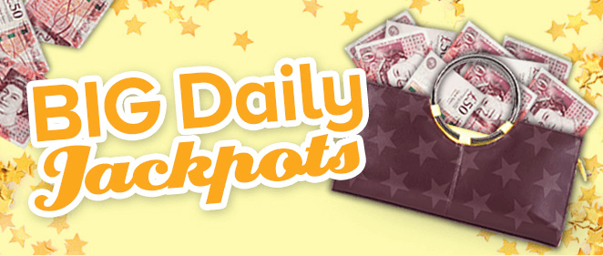 big daily jackpots banner
