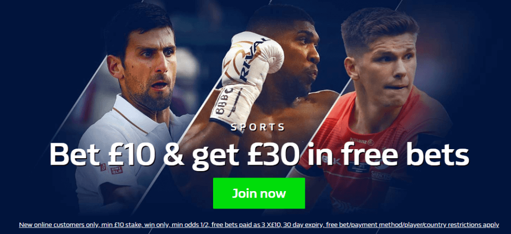 free bets william hill offer