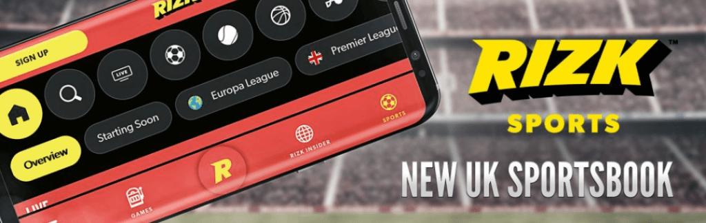 rizk sportsbook mobile