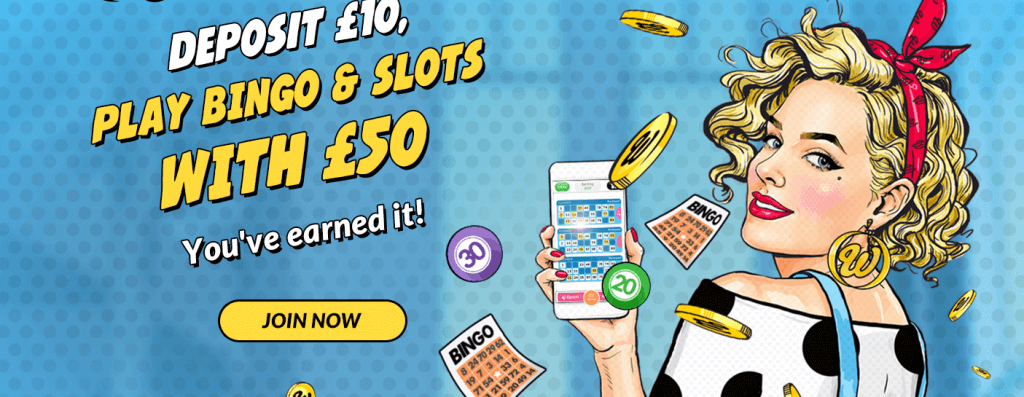 bingo welcome offer