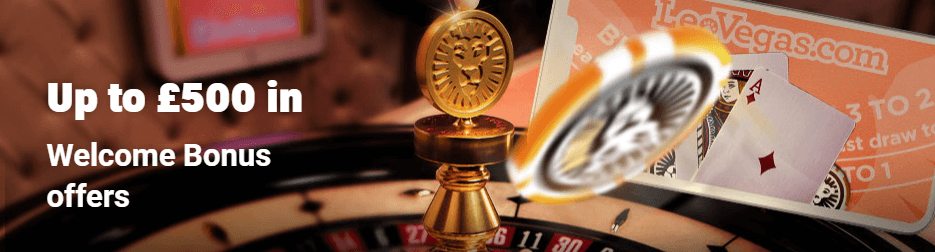 live casino welcome offer leovegas