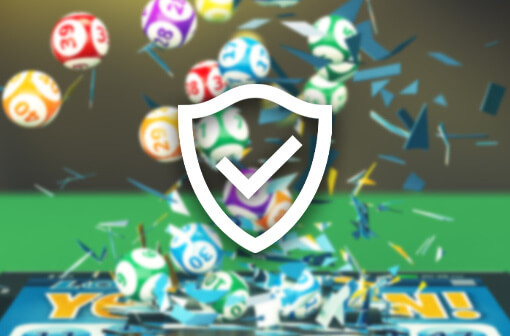 playing bingo online - shield with a tick icon