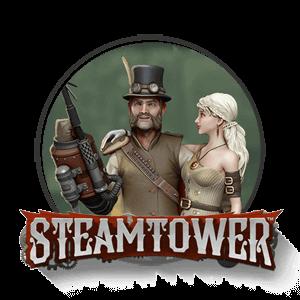 steamtower slot logo