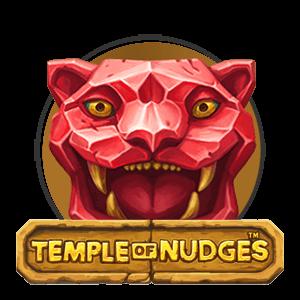 temple of nudges slot logo
