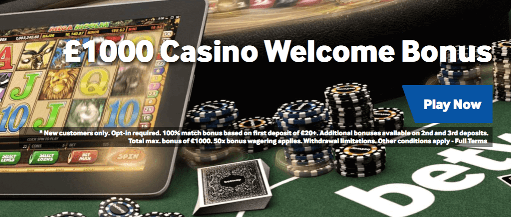 betway casino welcome offer