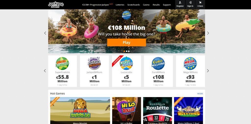 jackpot.com games