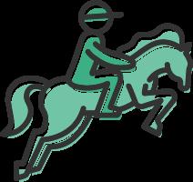 logo horse racing-min