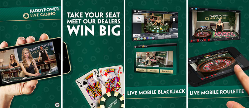 paddypower mobile live casino