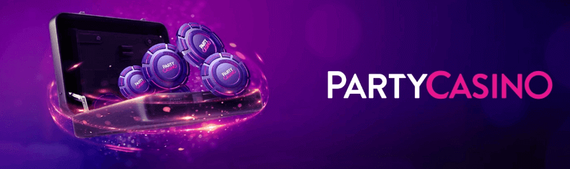 partycasino logo banner