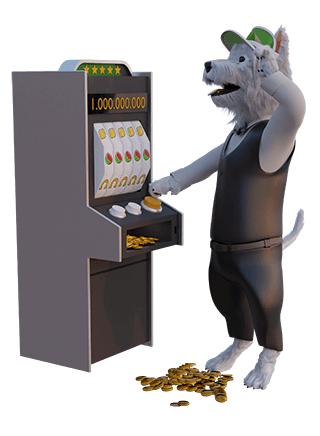 betpal mascot playing slots