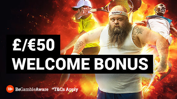 tonybet sports welcome offer