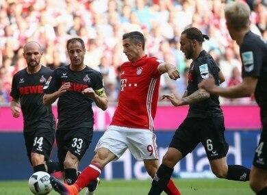 Bayern Cologne Budesliga