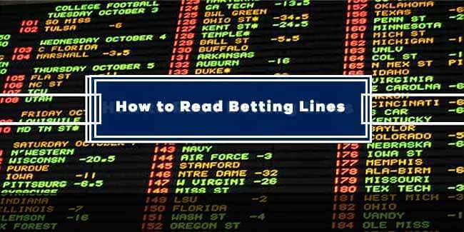 Betting Lines banner