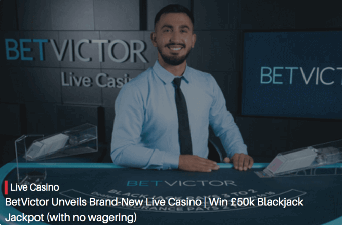 betvictor no wagering promo