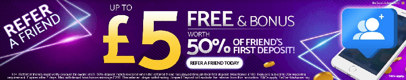 mfortune refer a friend bonus