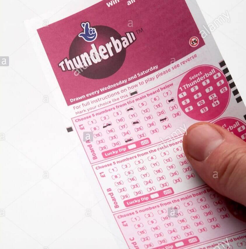 thunderball ticket offline