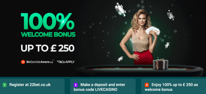 22bet live casino welcome bonus.png