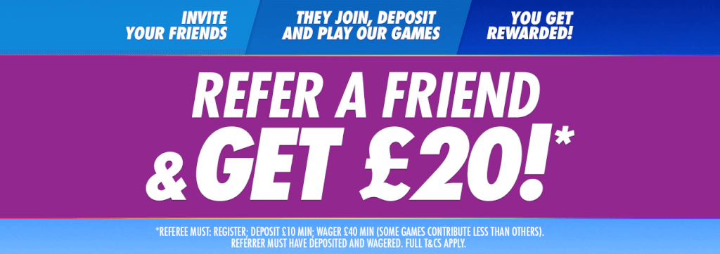 refer a friend and get 20 at jackpotjoy