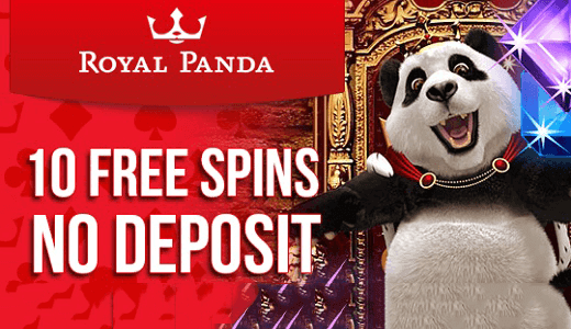 royal panda no deposit spins