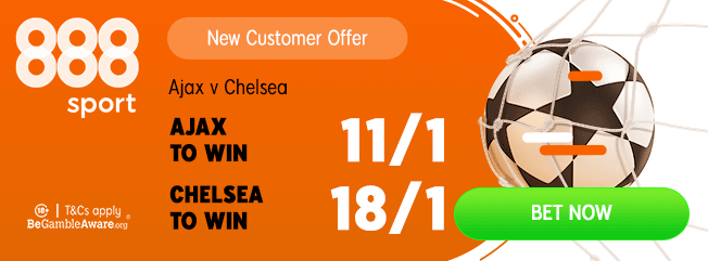 boosted odds ajax chelsea