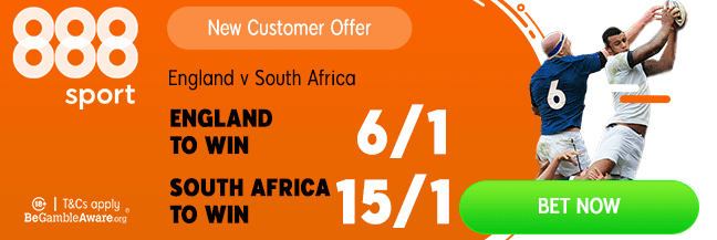 england v south africa 888 boosted odds