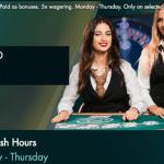 grosvenor blackjack rush hours