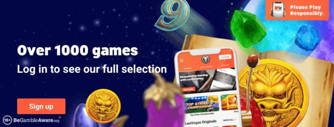 leovegas games