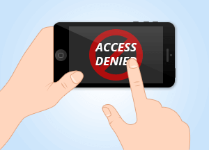 access denied mobile