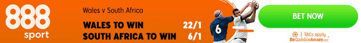 wales v south africa enhanced odds 888 sport banner