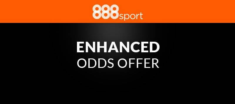 enhanced odds offer 888 sport