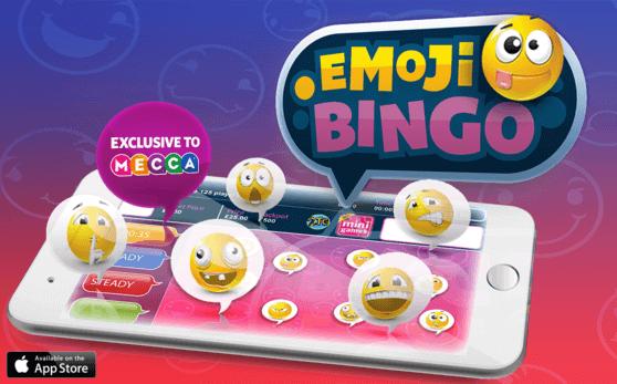 emoji bingo mecca