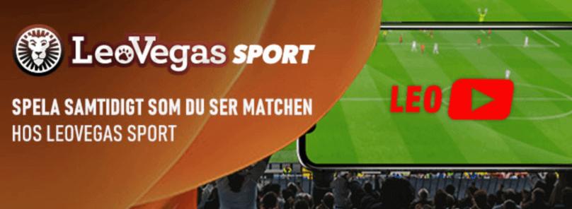 live streaming på LeoVegas Sports