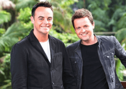 presenting duo Ant and Dec