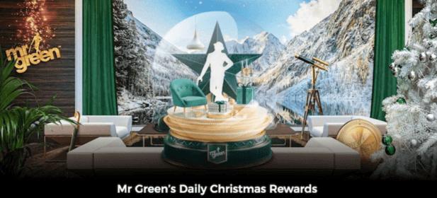 MrGreen - 47 Days of Daily Christmas Rewards