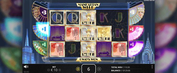 manhattan goes wild slot game